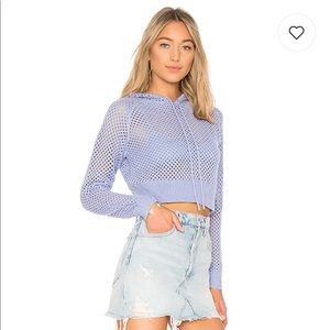 Lovers + Friends cropped sweater